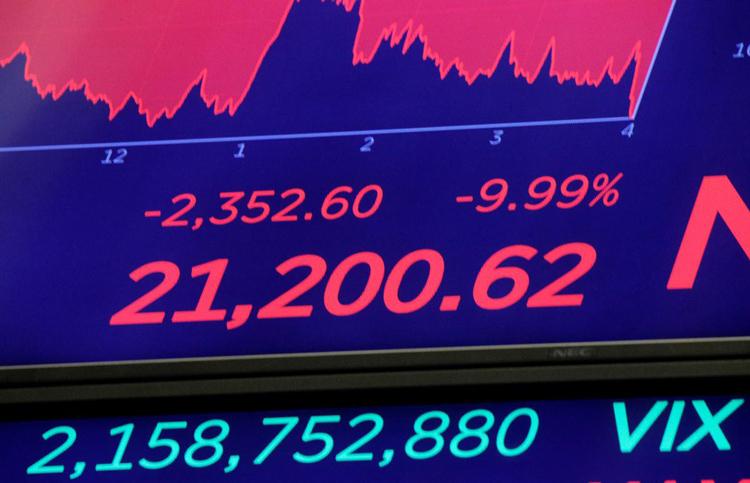 Mặc FED hạ lãi suất về gần 0, chứng khoán tương lai Mỹ vẫn giảm thê thảm, Dow futures mất 1.000 điểm - 16/3/2020
