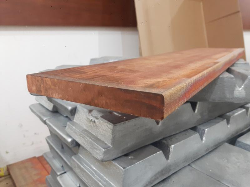 Đồng phốt pho tấm 150 x 600 mm