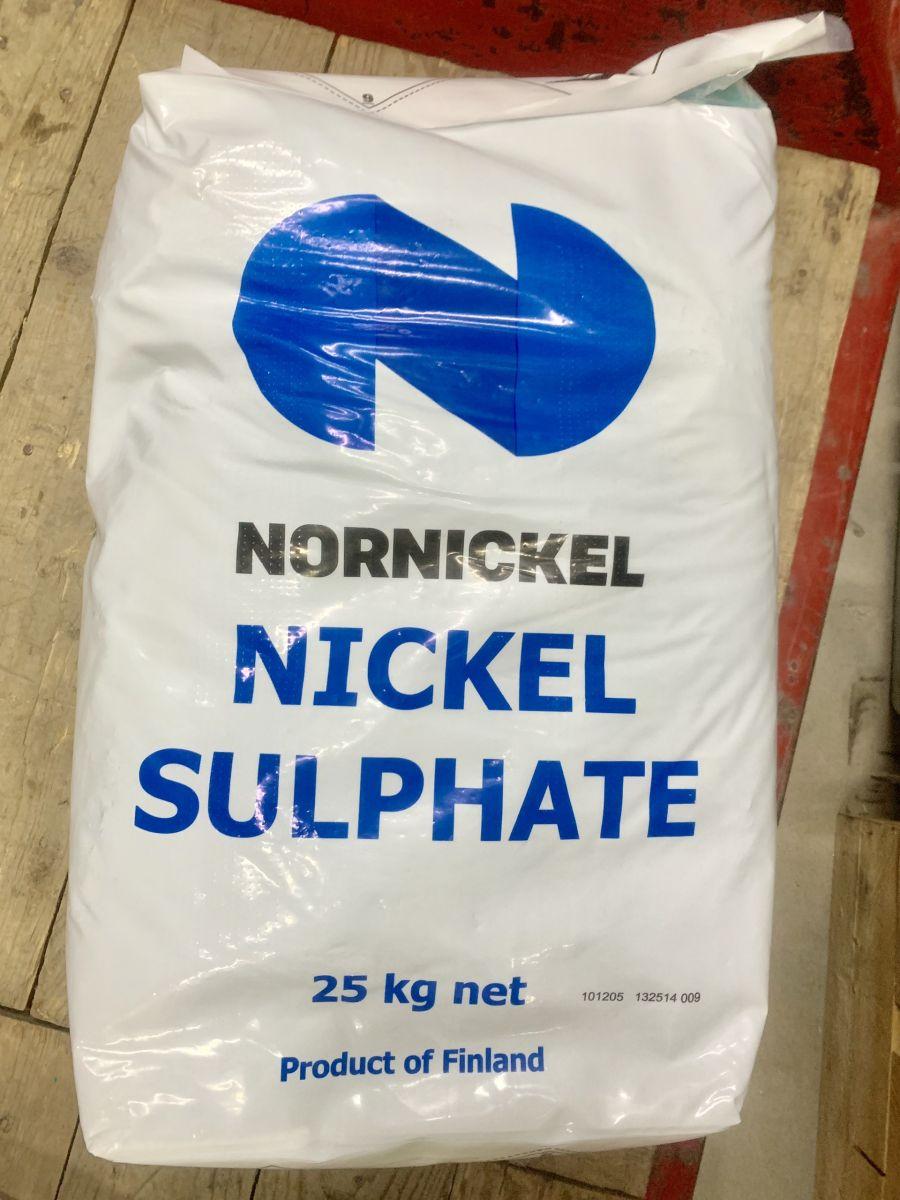 Muối niken sunphat - NiSO4 ( Phần Lan)